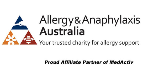 Allergy & Anaphylaxis Australia - Your trusted charity for allergy support - Proud Affiliate Partner of MedActiv Australia