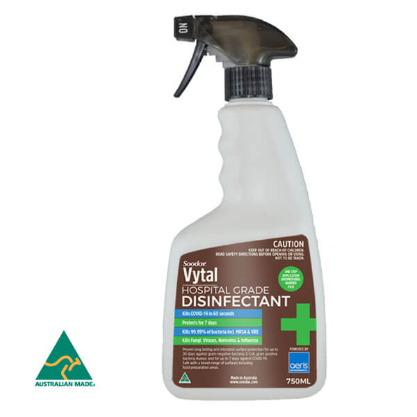 Soodox Vytal - Hospital Grade Disinfectant 750ml