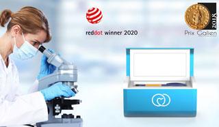 LifeinBox refridgerator for medications is a Reddot award winnner