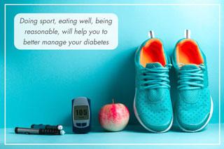 Keep diabetes under control
