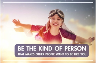 Be that kind of person